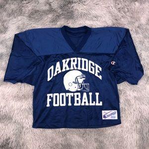 Vintage Champion OAKRIDGE High Football Jersey